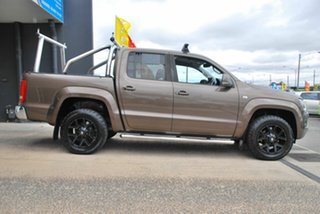 2014 Volkswagen Amarok 2H MY13 TDI400 Highline (4x4) Brown 6 Speed Manual Dual Cab Utility