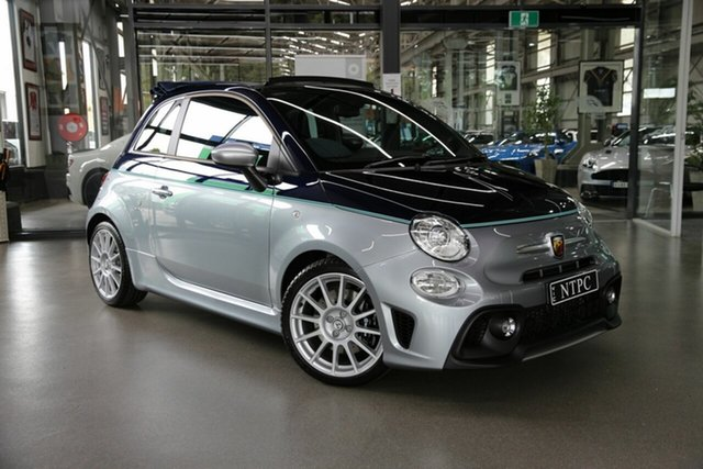 Used Abarth 695 Series 4 Rivale Dualogic North Melbourne, 2019 Abarth 695 Series 4 Rivale Dualogic Silver 5 Speed Sports Automatic Single Clutch Convertible