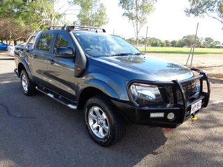 2015 Ford Ranger PX MkII XLS Double Cab Grey 6 Speed Manual Utility.