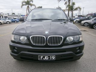 2003 BMW X5 E53 Steptronic Black 5 Speed Sports Automatic Wagon.
