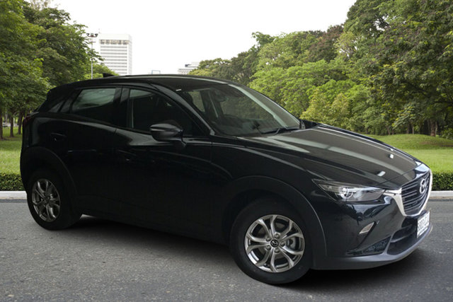 Demo Mazda CX-3 DK2W7A Maxx SKYACTIV-Drive FWD Sport Paradise, 2020 Mazda CX-3 DK2W7A Maxx SKYACTIV-Drive FWD Sport Jet Black 6 Speed Sports Automatic Wagon