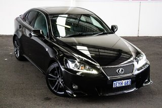 2011 Lexus IS350 GSE21R F Sport 6 Speed Automatic Sedan.