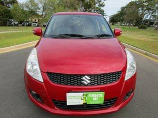 2012 Suzuki Swift FZ RE.2 Red 5 Speed Manual Hatchback.