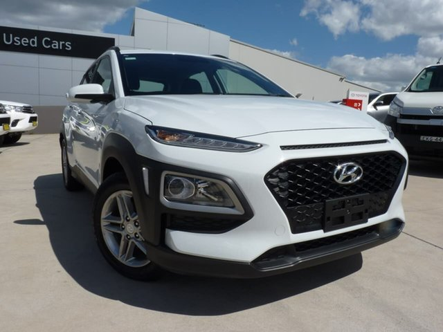 Pre-Owned Hyundai Kona OS.2 MY19 Active 2WD Blacktown, 2019 Hyundai Kona OS.2 MY19 Active 2WD Chalk White 6 Speed Sports Automatic Wagon