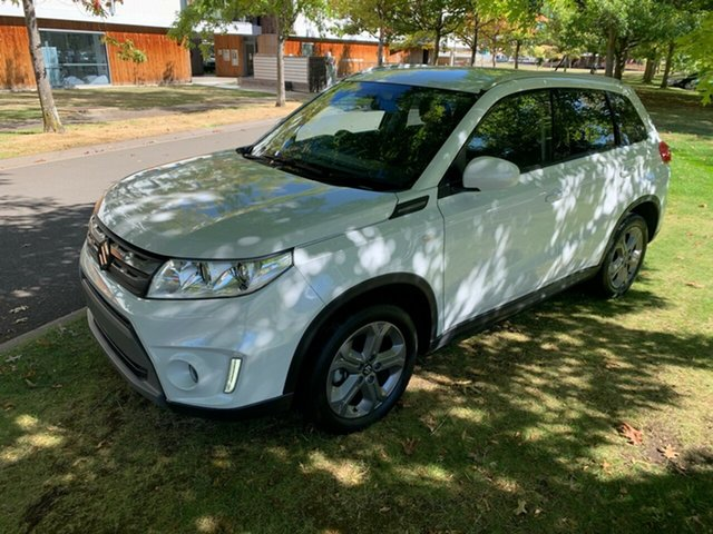 Used Suzuki Vitara LY RT-S 2WD Launceston, 2017 Suzuki Vitara LY RT-S 2WD White 6 Speed Sports Automatic Wagon