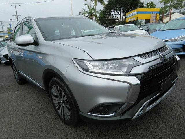 Used Mitsubishi Outlander ZL MY19 ES AWD Mount Gravatt, 2019 Mitsubishi Outlander ZL MY19 ES AWD Silver 6 Speed Constant Variable Wagon
