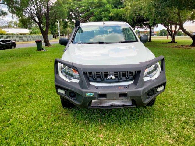 Used Mitsubishi Triton MQ MY18 GLX (4x4) Parap, 2018 Mitsubishi Triton MQ MY18 GLX (4x4) White 5 Speed Automatic Dual Cab Utility