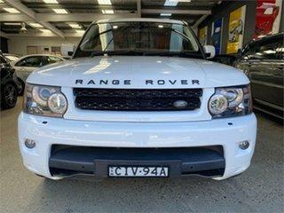 2012 Land Rover Range Rover Sport L320 SDV6 Luxury White Sports Automatic Wagon.