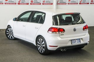 2011 Volkswagen Golf 1K MY12 GTD White 6 Speed Direct Shift Hatchback.