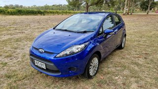 2012 Ford Fiesta WT LX PwrShift Blue 6 Speed Sports Automatic Dual Clutch Hatchback