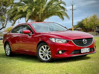 2013 Mazda 6 GJ1031 Touring SKYACTIV-Drive Red/Black 6 Speed Sports Automatic Sedan.