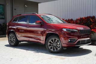 2020 Jeep Cherokee KL MY21 S-Limited Velvet Red 9 Speed Sports Automatic Wagon.