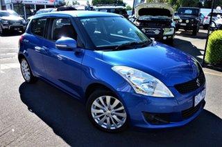 2012 Suzuki Swift FZ GLX Blue 4 Speed Automatic Hatchback.