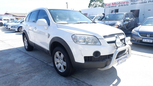 Used Holden Captiva CG CX AWD St James, 2007 Holden Captiva CG CX AWD White 5 Speed Sports Automatic Wagon