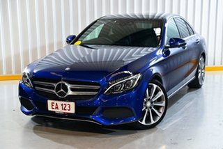 2016 Mercedes-Benz C-Class W205 807MY C250 d 7G-Tronic + Blue 7 Speed Sports Automatic Sedan.