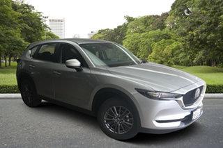 2021 Mazda CX-5 KF2W7A Maxx SKYACTIV-Drive FWD Sonic Silver 6 Speed Sports Automatic Wagon.