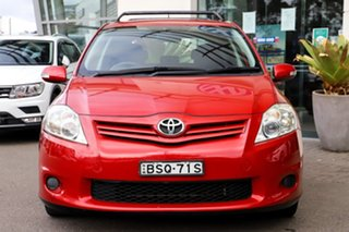 2010 Toyota Corolla ZRE152R MY10 Conquest Red 6 Speed Manual Hatchback