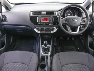 2015 Kia Rio UB MY15 S Blue 6 Speed Manual Hatchback