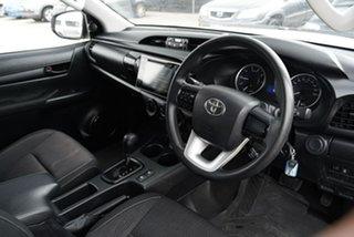 2018 Toyota Hilux GUN126R SR White Sports Automatic Utility
