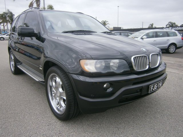 Used BMW X5 E53 Steptronic Cheltenham, 2003 BMW X5 E53 Steptronic Black 5 Speed Sports Automatic Wagon