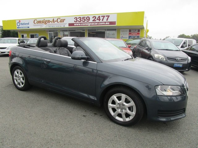 Used Audi A3 8P Attraction S Tronic Kedron, 2008 Audi A3 8P Attraction S Tronic Grey 6 Speed Sports Automatic Dual Clutch Convertible