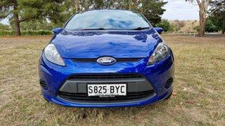 2012 Ford Fiesta WT LX PwrShift Blue 6 Speed Sports Automatic Dual Clutch Hatchback.