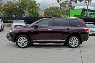 2013 Toyota Kluger GSU45R MY12 Grande AWD Crimson 5 Speed Sports Automatic Wagon