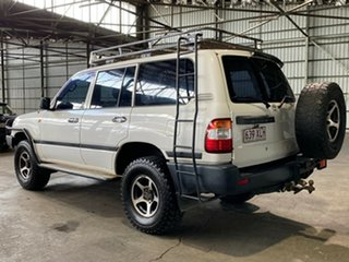 2005 Toyota Landcruiser HZJ105R Standard White 5 Speed Manual Wagon