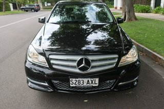 2013 Mercedes-Benz C200 W204 C200 7G-Tronic + Black Automatic Sedan.