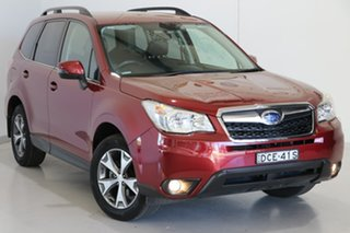 2015 Subaru Forester S4 MY15 2.5i-L CVT AWD Maroon 6 Speed Constant Variable Wagon.