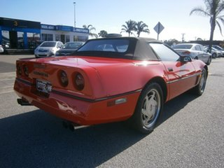 1987 Chevrolet Corvette Red 4 Speed Automatic Convertible