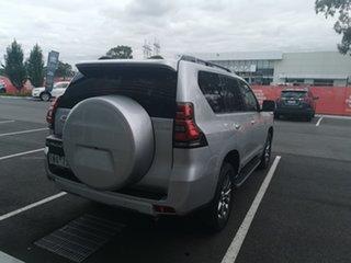 2018 Toyota Landcruiser Prado GDJ150R Kakadu Silver 6 Speed Sports Automatic Wagon.