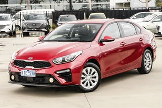 2019 Kia Cerato BD MY20 S Red 6 Speed Sports Automatic Sedan.