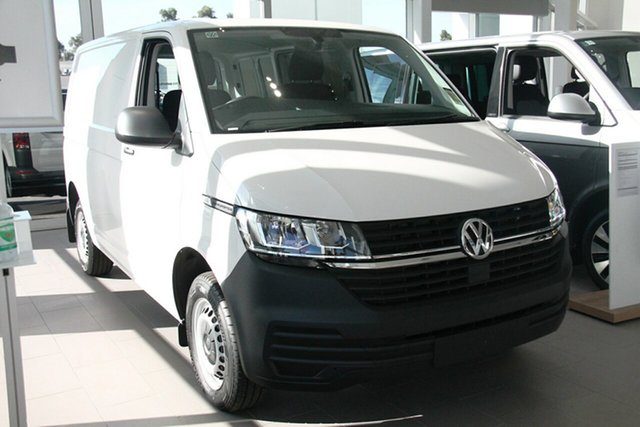 New Volkswagen Transporter T6.1 MY21 TDI340 SWB DSG Port Melbourne, 2020 Volkswagen Transporter T6.1 MY21 TDI340 SWB DSG White 7 Speed Sports Automatic Dual Clutch Van