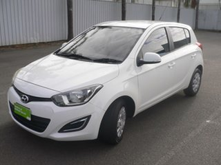 2012 Hyundai i20 PB MY13 Active White 4 Speed Automatic Hatchback