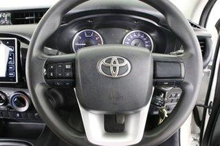 2016 Toyota Hilux GUN136R SR Hi-Rider White 6 Speed Manual Dual Cab Utility
