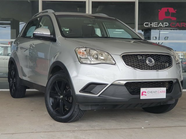 Used Ssangyong Korando C200 S 2WD Brendale, 2012 Ssangyong Korando C200 S 2WD Silver 6 Speed Manual Wagon