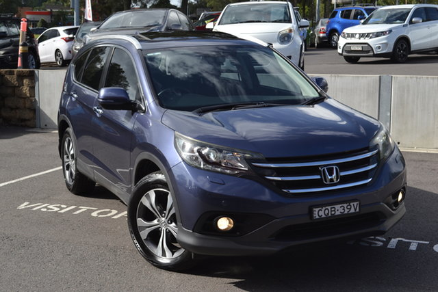 Used Honda CR-V RM MY14 VTi-L 4WD Maitland, 2013 Honda CR-V RM MY14 VTi-L 4WD Blue 5 Speed Sports Automatic Wagon
