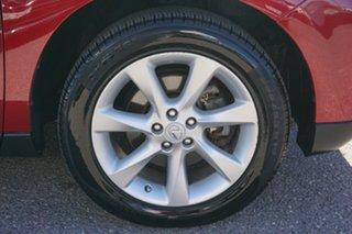 2009 Lexus RX GGL15R RX350 Sports Luxury Red 6 Speed Sports Automatic Wagon
