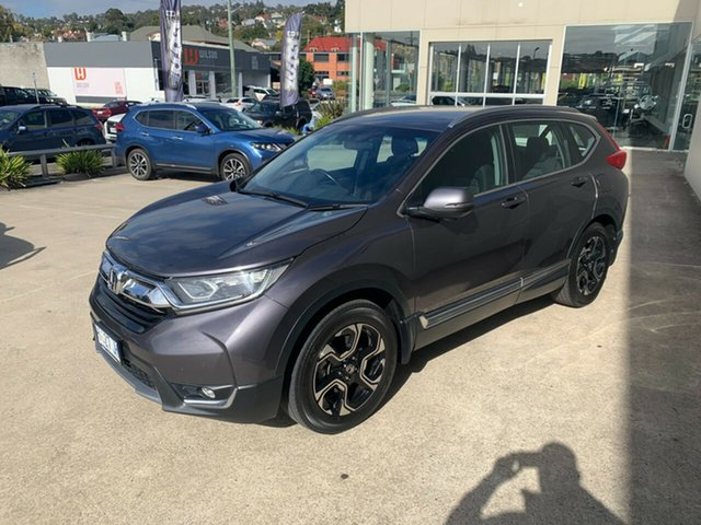 Used Honda CR-V RW MY18 VTi-S FWD Launceston, 2018 Honda CR-V RW MY18 VTi-S FWD Grey 1 Speed Constant Variable Wagon