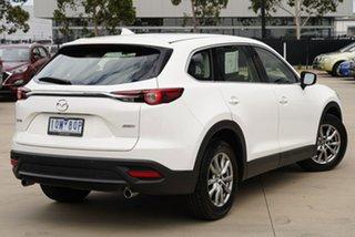 2019 Mazda CX-9 TC Touring White Sports Automatic SUV.
