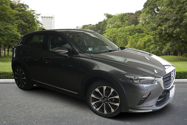 Demo Mazda CX-3 DK2W7A sTouring SKYACTIV-Drive FWD Paradise, 2020 Mazda CX-3 DK2W7A sTouring SKYACTIV-Drive FWD Machine Grey 6 Speed Sports Automatic Wagon