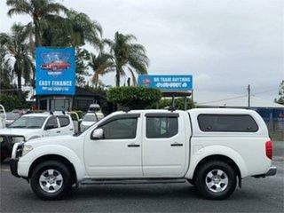 2007 Nissan Navara D40 ST-X White 5 Speed Automatic Utility