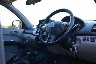 2012 Mitsubishi Triton MN MY12 GL-R Double Cab White 5 Speed Manual Utility