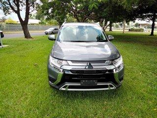 2019 Mitsubishi Outlander ZL MY19 ES 7 Seat (AWD) Gray Black Continuous Variable Wagon.