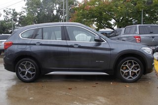 2015 BMW X1 F48 xDrive20d Steptronic AWD Grey 8 Speed Sports Automatic Wagon.