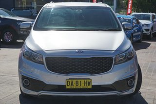 2018 Kia Carnival YP MY19 Platinum Silver 8 Speed Sports Automatic Wagon.