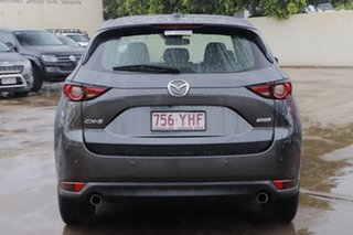 2018 Mazda CX-5 KF2W7A Maxx SKYACTIV-Drive FWD Sport Machine Grey 6 Speed Sports Automatic Wagon