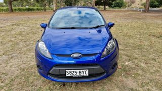 2012 Ford Fiesta WT LX PwrShift Blue 6 Speed Sports Automatic Dual Clutch Hatchback.