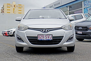 2012 Hyundai i20 PB MY12 Active Silver 4 Speed Automatic Hatchback.